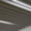 Rockfon® Intaline™ Round Base Metal Baffle Ceilings
