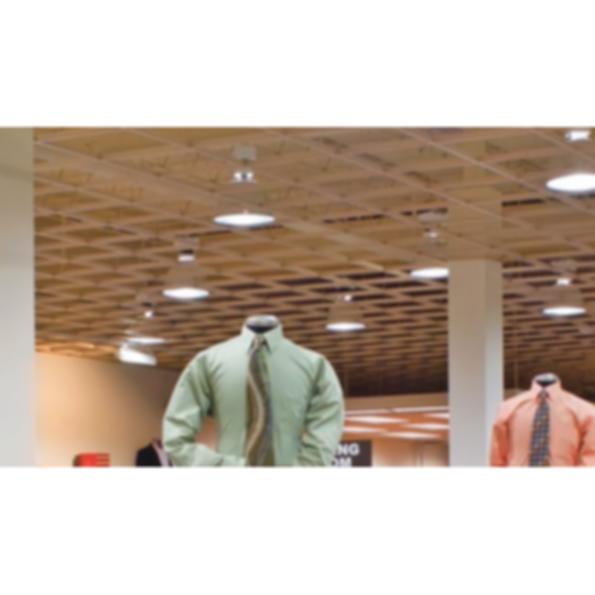 "Rockfon® Cubegrid® Open Plenum 15/16"" Ceiling System"