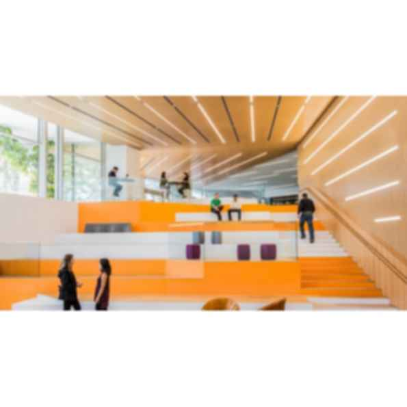 Quadrillo®  Perforated Acoustical Wood Panels with Fiberglass Core