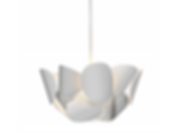 Large Lotus Pendant Light