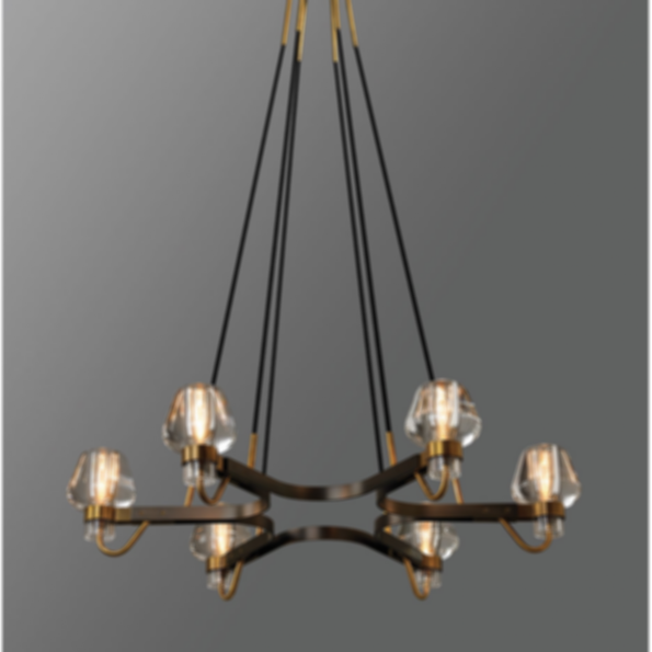 Montalembert 6 Light Chandelier