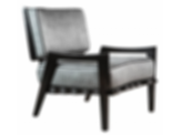 Low Lounge Chair in Black Lacquer