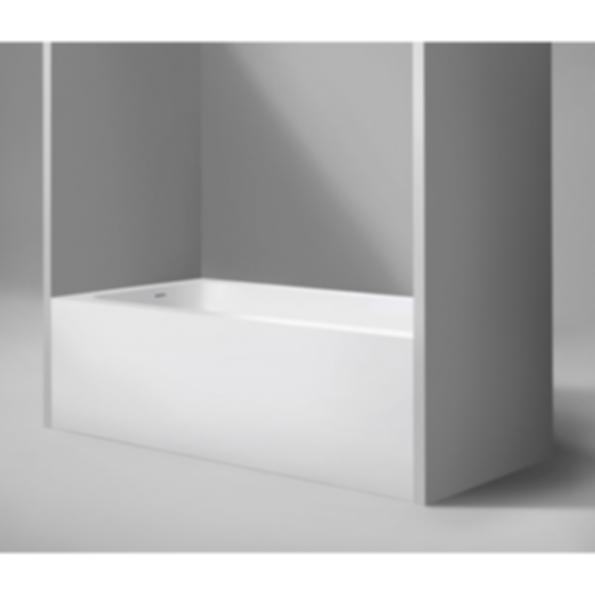 "Metrix 60"" Blustone™ Alcove Bathtub"