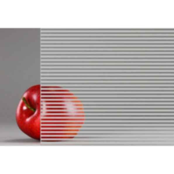 Linear Pattern Fritted Rainscreen Glass