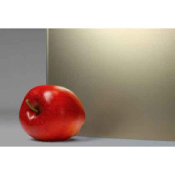 "Titanium® Colored Etched Glass in ""Bronze"""