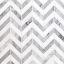 Talon Carrara and Thassos Marble Tile