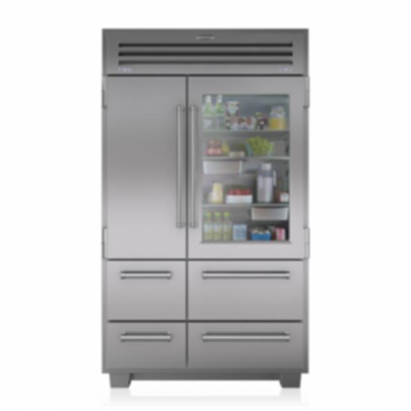 PRO 48 Refrigerator with Glass Door 648PROG