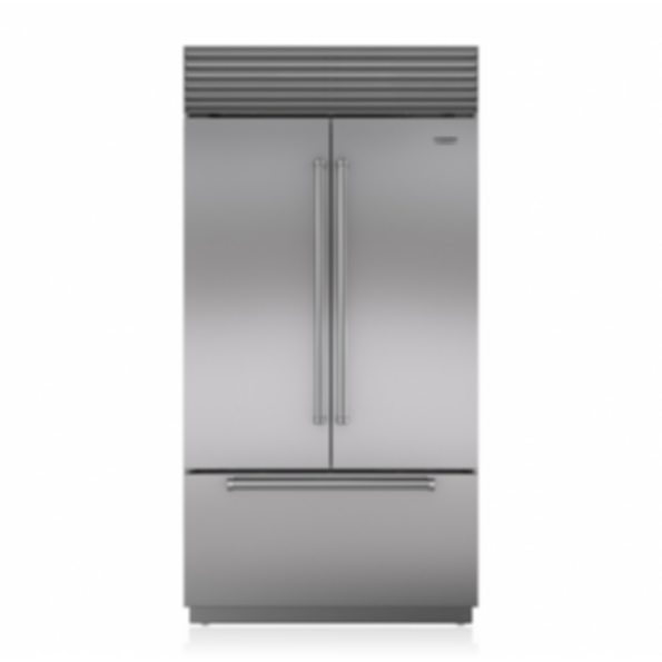 "42"" Classic French Door Refrigerator/Freezer with Internal Dispenser BI-42UFDID/S"