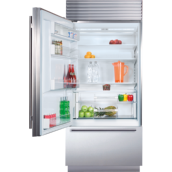 "36"" Classic Over-and-Under Refrigerator/Freezer BI-36U/S"