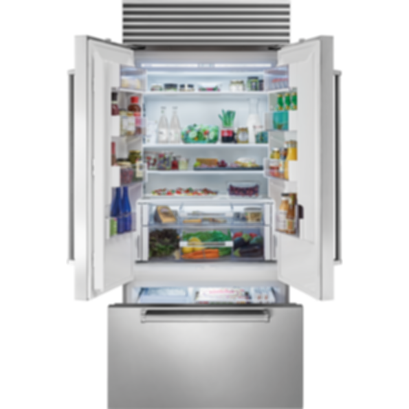 "36"" Classic French Door Refrigerator/Freezer with Internal Dispenser - Panel Ready BI-36UFDID/O"