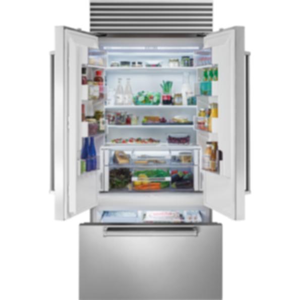 "36"" Classic French Door Refrigerator/Freezer with Internal Dispenser BI-36UFDID/S"