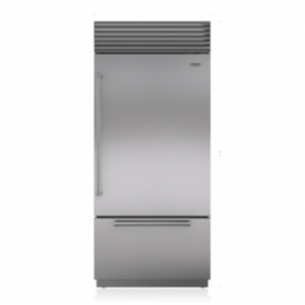 "36"" Classic Over-and-Under Refrigerator/Freezer with Internal Dispenser BI-36UID/S"