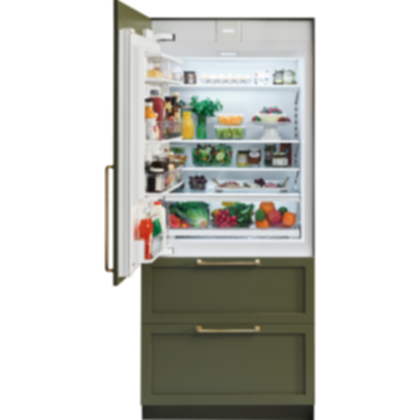 "36"" Designer Over-and-Under Refrigerator/Freezer with Internal Dispenser and Ice Maker - Panel Ready IT-36CIID"
