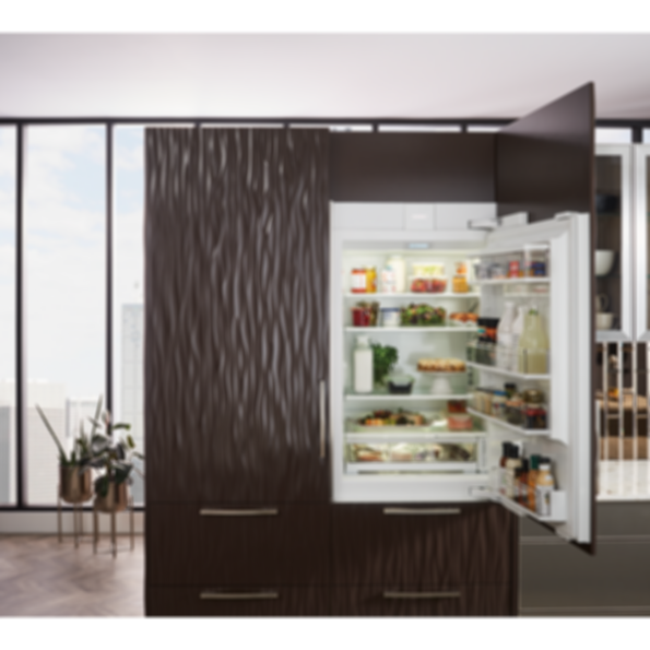 "30"" Designer Over-and-Under Refrigerator with Internal Dispenser - Panel Ready IT-30RID"