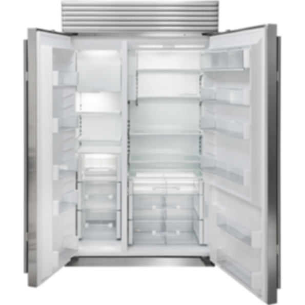 "48"" Classic Side-by-Side Refrigerator/Freezer with Internal Dispenser - Panel Ready BI-48SID/O"