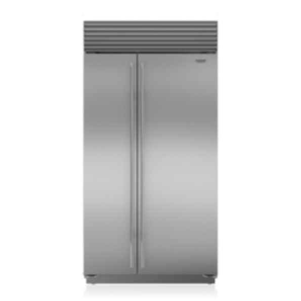 "42"" Classic Side-by-Side Refrigerator/Freezer with Internal Dispenser BI-42SID/S"