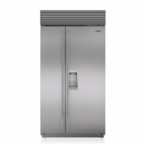 "42"" Classic Side-by-Side Refrigerator/Freezer with Dispenser BI-42SD/S"