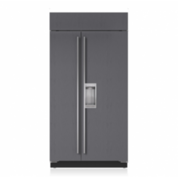 "42"" Classic Side-by-Side Refrigerator/Freezer with Dispenser - Panel Ready BI-42SD/O"