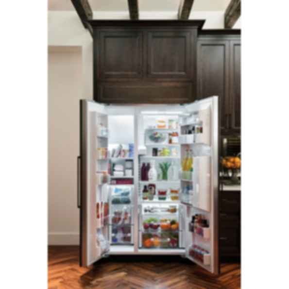 42 Quot Classic Side By Side Refrigerator Freezer With