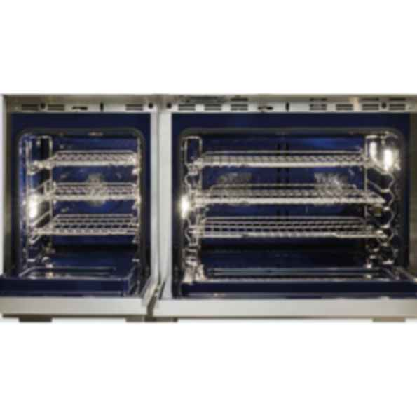 """48"""" Dual Fuel Range - 6 Burners and Infrared Griddle DF486G"""