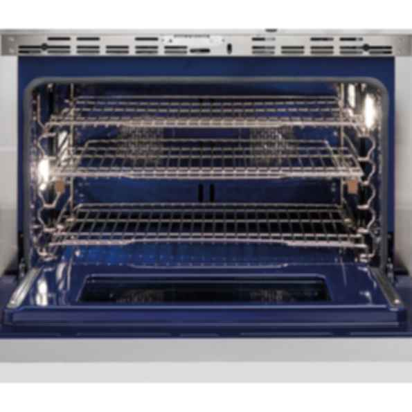 """36"""" Dual Fuel Range - 4 Burners and Infrared Griddle DF364G"""