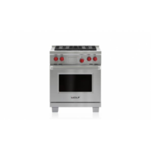 "30"" Dual Fuel Range - 4 Burners DF304"