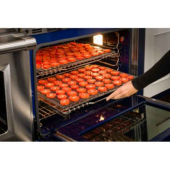 """48"""" Dual Fuel Range - 4 Burners and Infrared Dual Griddle DF484DG"""