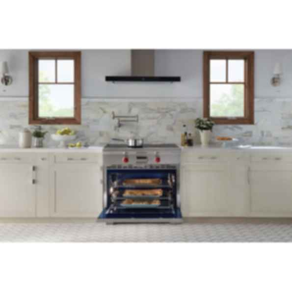 "36"" Transitional Induction Range IR365TE/S/TH"