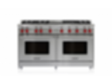 "60"" Gas Range - 6 Burners, Infrared Charbroiler and Infrared Griddle GR606CG"