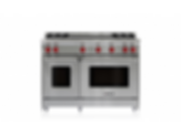 "48"" Gas Range - 4 Burners and Infrared Dual Griddle GR484DG"