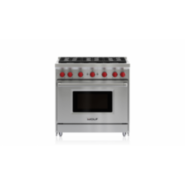 "36"" Gas Range - 6 Burners GR366"