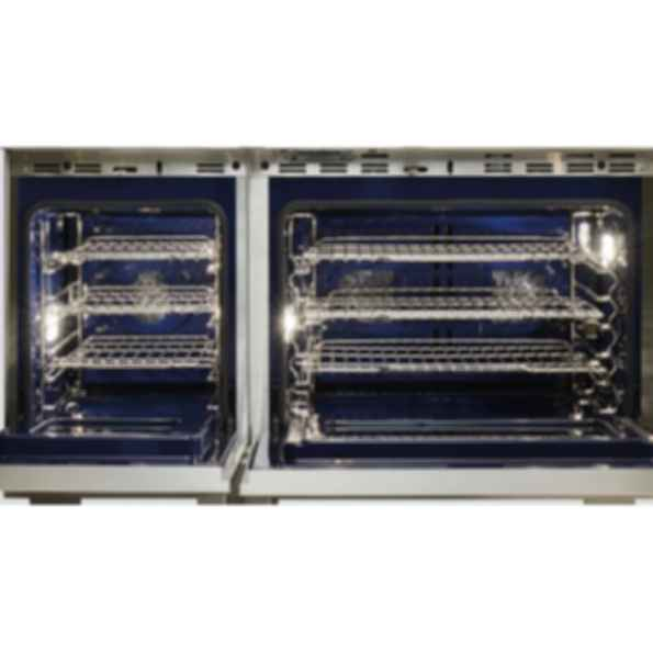 "48"" Dual Fuel Range - 6 Burners and Infrared Charbroiler DF486C"