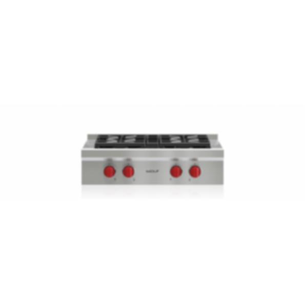 """30"""" Sealed Burner Rangetop - 4 Burners SRT304"""