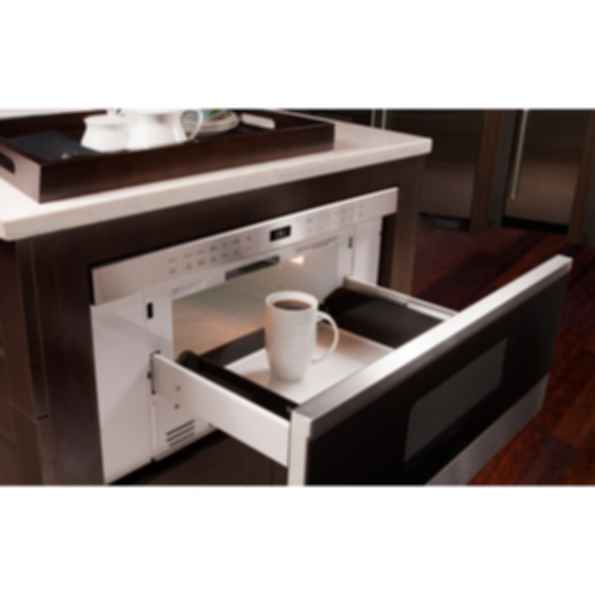 """30"""" Transitional Drawer Microwave MD30TE/S"""