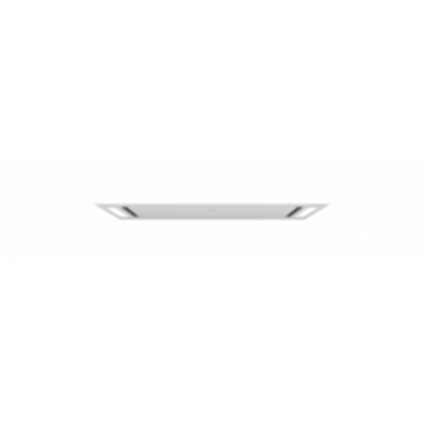"""36"""" Ceiling-Mounted Hood - White Glass VC36W"""