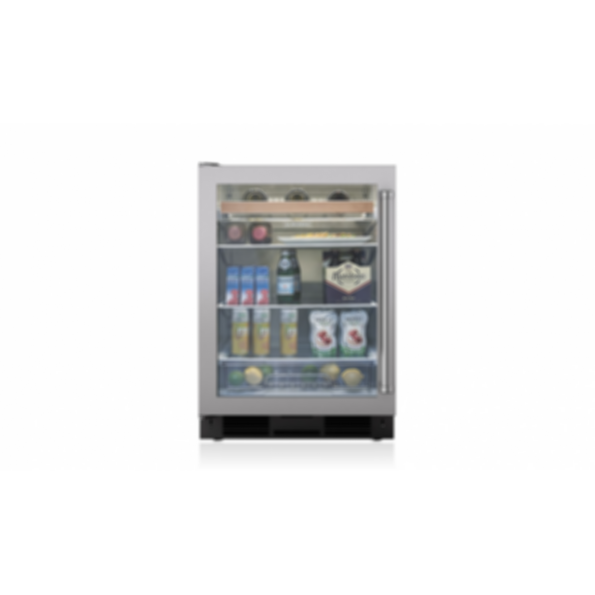 "24"" Undercounter Beverage Center - Stainless Door UC-24BG/S"