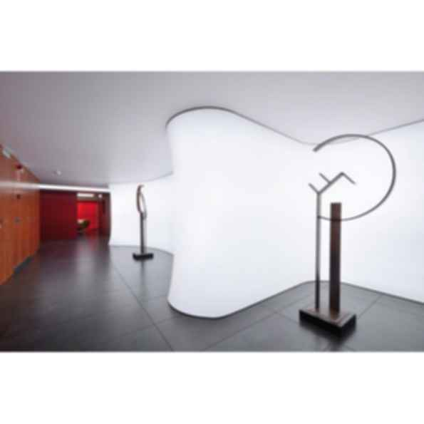 Barrisol Lighting Wall