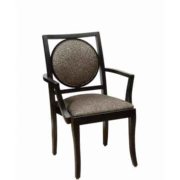 Circle Back Stacking Arm and Side Chair