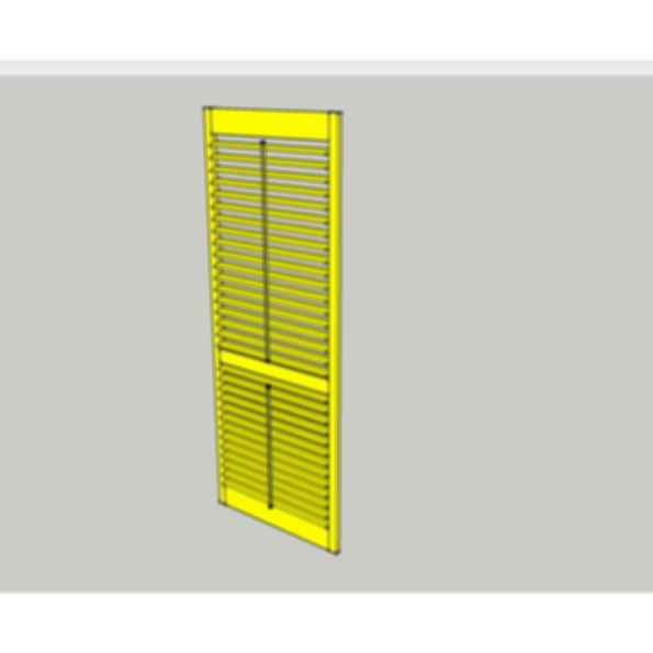 Luxaflex Countrywood Shutters For Sketchup