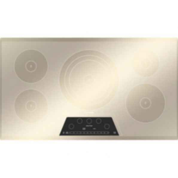 Masterpiece 36 Inch Induction Cooktop Silver Mirrored Finish CIT365GM