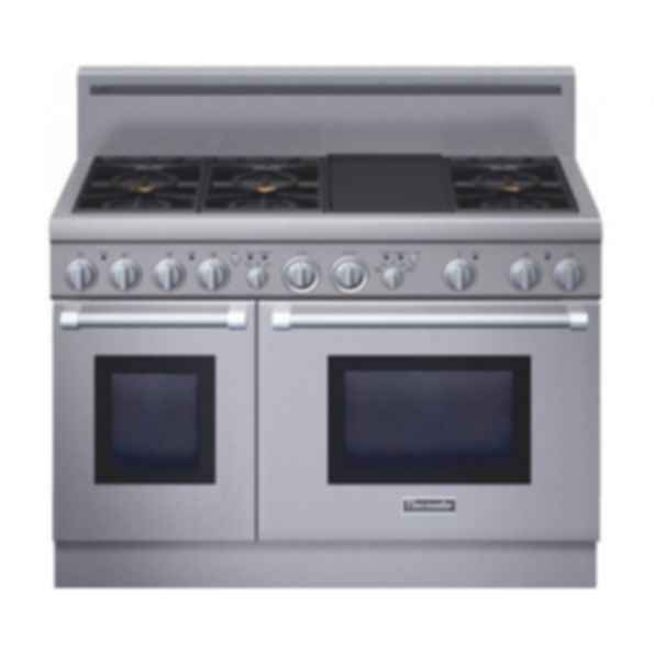 48 inch Professional Series Pro Harmony® Standard Depth All Gas Range PRG486GDH