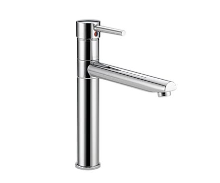 Delta Single Handle Kitchen Faucet Length Of Lever Handle