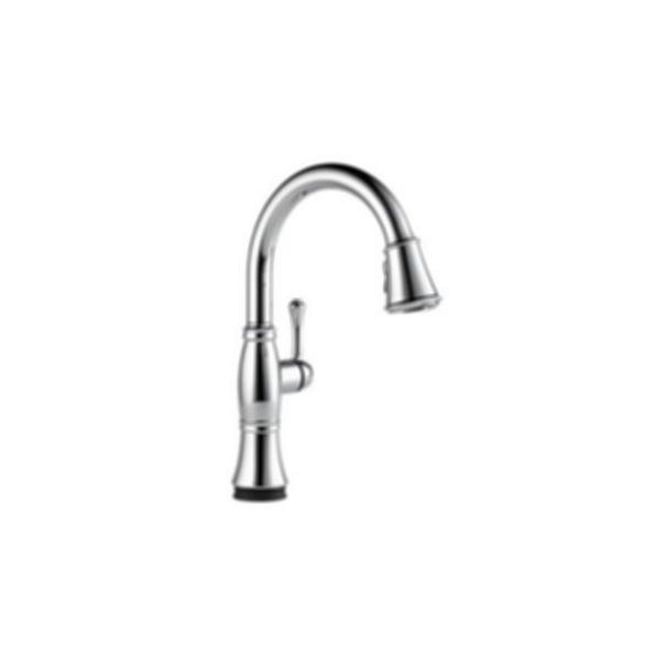 Single Handle Pull-Down Kitchen Faucet with Touch20® Technology Kitchen Cassidy 9197T
