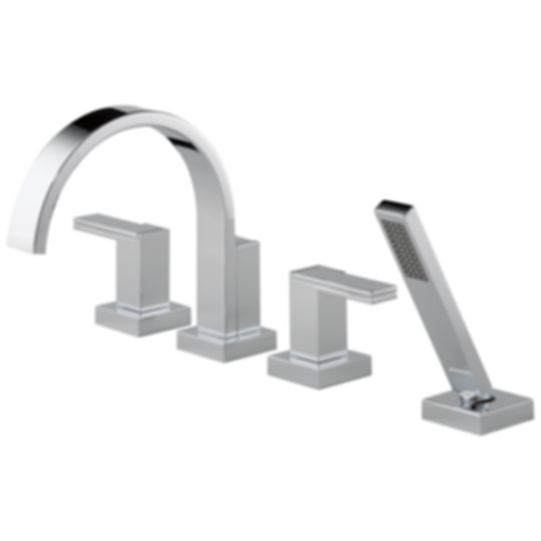 Siderna® Roman Tub Trim with Hand Shower - Less Handles T67480-HL682