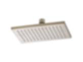 Siderna® Rectangular 2.5 gpm Raincan Showerhead 81380