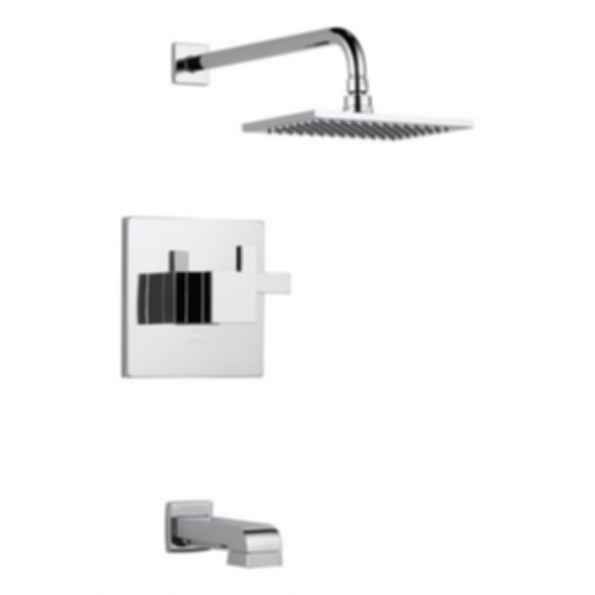 Siderna Chrome Tub Shower - Medium Flow by Brizo