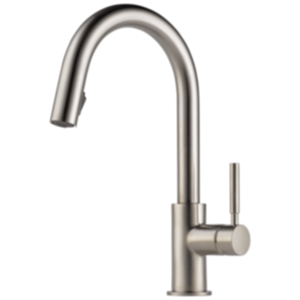 Solna® Single Handle Pull-Down Kitchen Faucet 63020LF