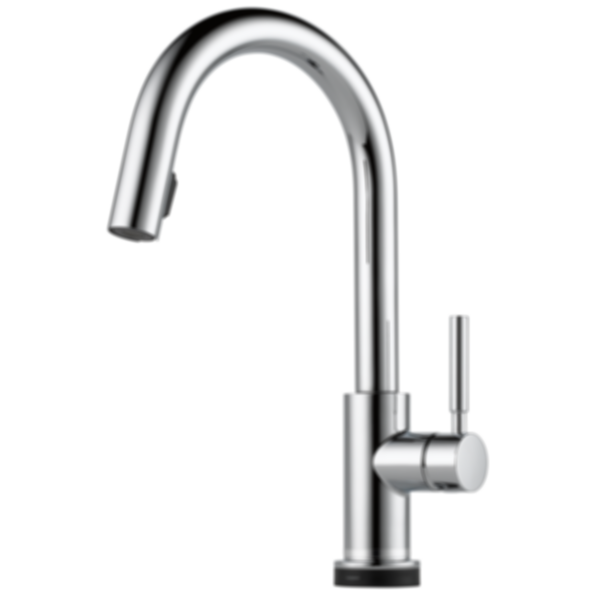 Solna® Single Handle Single Hole Pull-Down Kitchen Faucet with Smarttouch® Technology 64020LF