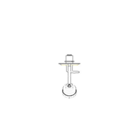 Shower Faucet Trim, Grail® Series, Shower Only, Chrome Finish, Single Handle, Lever Type