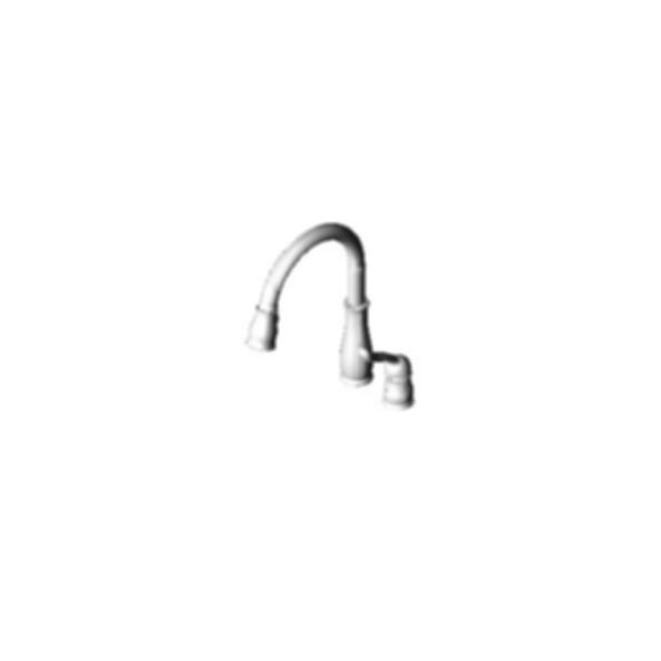 Leland Diamondeal Technology Kitchen Pull Down Faucet,